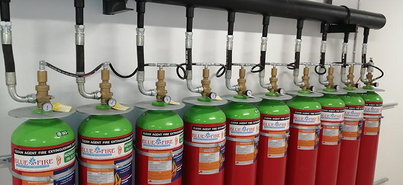FK-5-1-12 Gazlı Yangın Söndürme Sistemleri